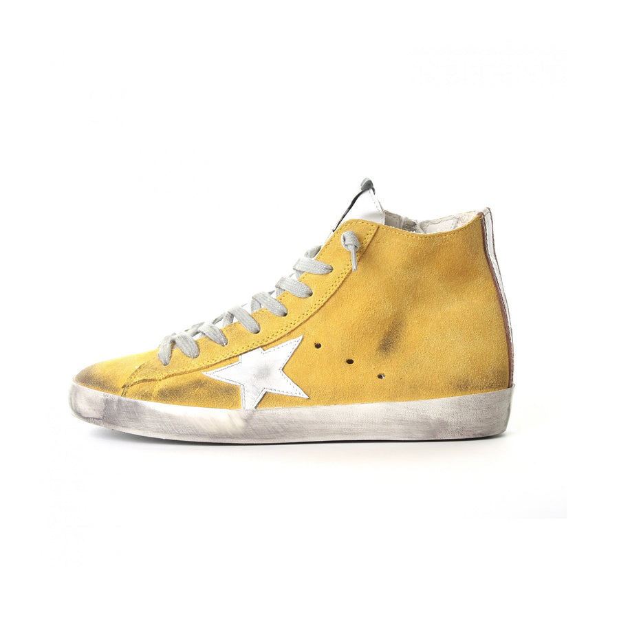 Francy Yellow Suede Sneakers Kids