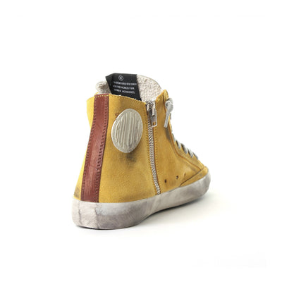 Francy Yellow Suede Sneakers