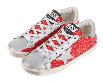Super Star Glitter Sneakers Kids