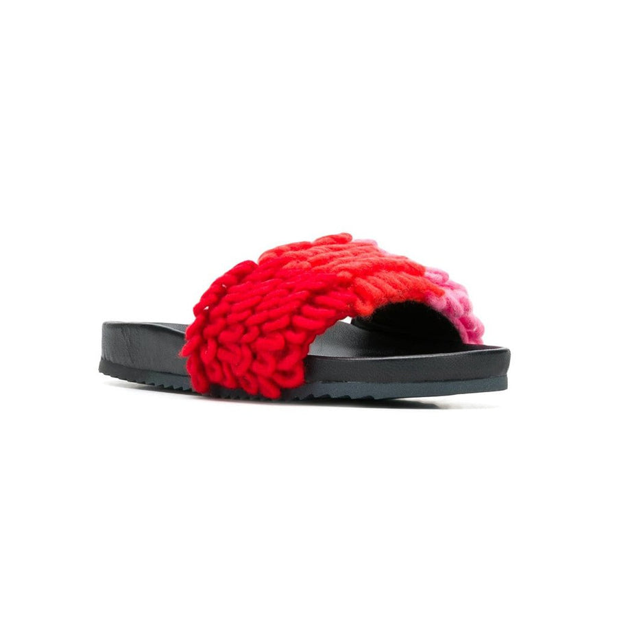 Loop Knit Slides
