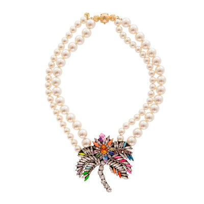 Palm Pearl Necklace