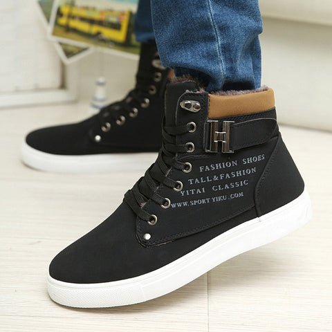 63a3db08d7 Swagger Dynasty Spring   Winter Ankle Boots Men Shoes