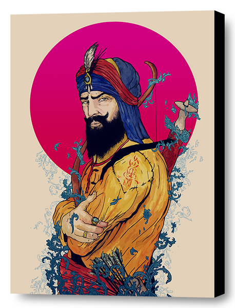 SIKH ARTIST BRINGS NEW 'NORDIC' STYLE TO SIKHISM ART