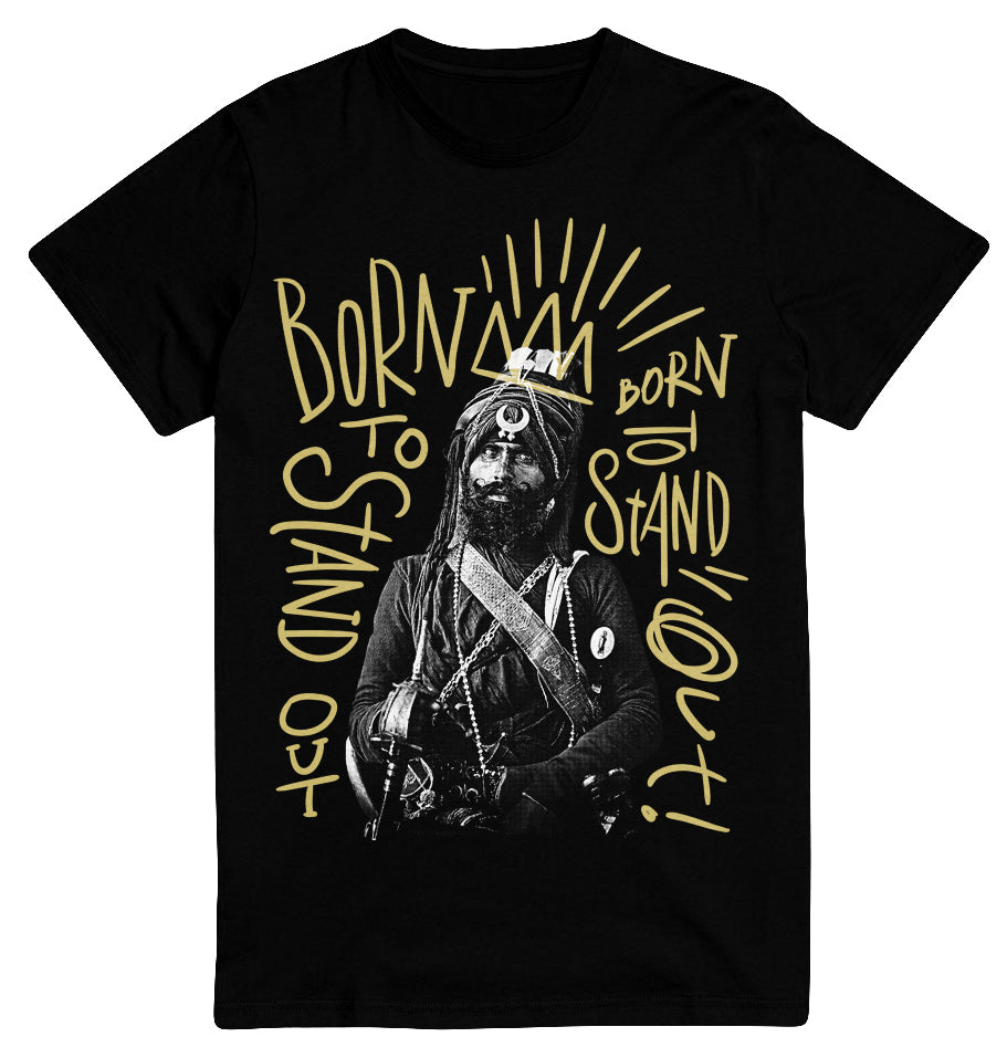 Born 2 Stand Out Tee - Sikhexpo