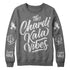 Chardi Kala Vibes Crewneck (heather grey) - Sikhexpo