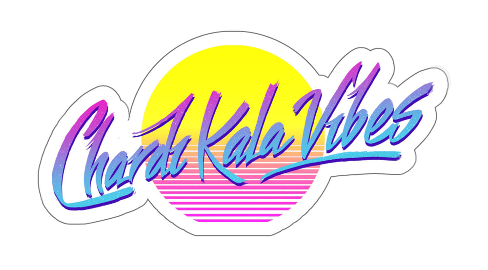 Chardi Kala Vibes Retro - Decal Sticker - Sikhexpo