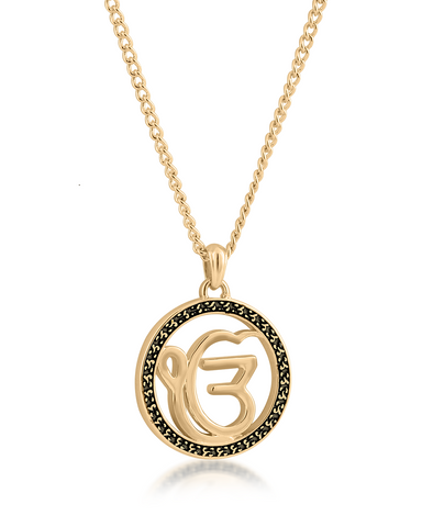 Ek Onkar Halo Necklace