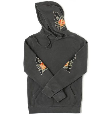 Punjab Floral Embroidery - Hoodie (special edition) - Sikhexpo