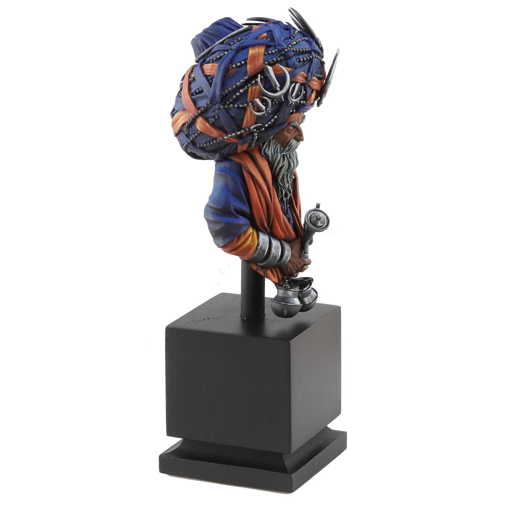Sikh Nihang Warrior Bust - *Hand Painted*