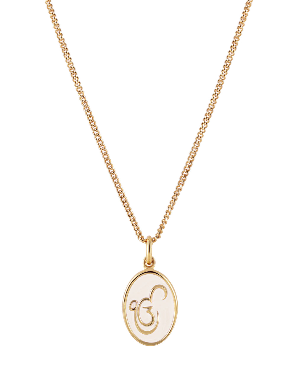 Mini Ek Onkar Pendant Necklace