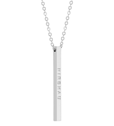 Nirbhau Nirvair Bar Necklace