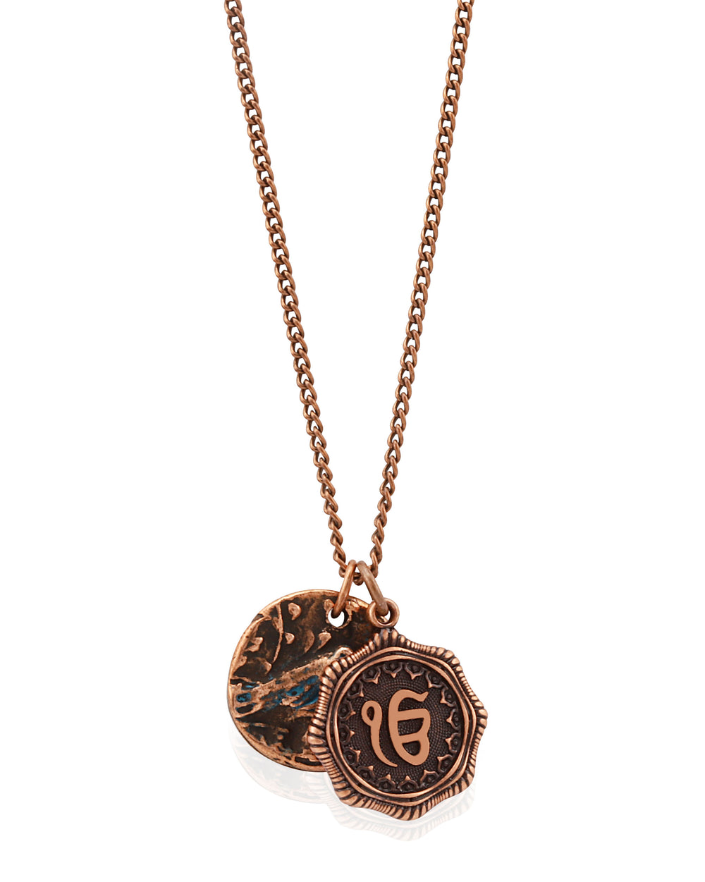 Artisan Ek Onkar Coin Necklace - Sikhexpo