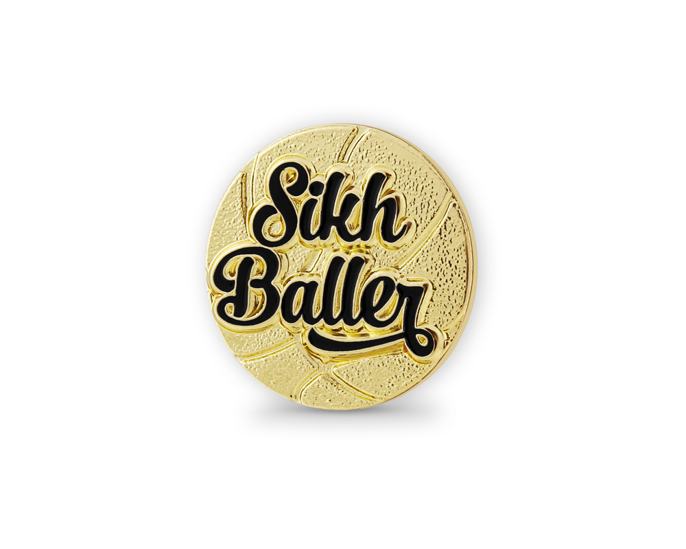 Sikh Basketball Player Pin *NEW*