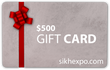 Sikhexpo Gift Card - $500 USD