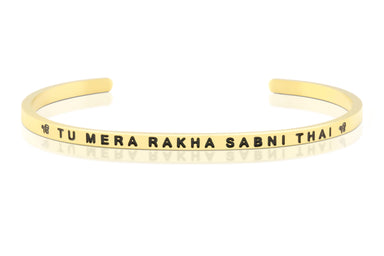 Tu Mera Rakha Gold Band
