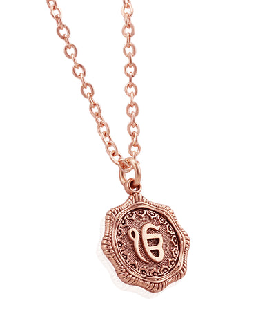 Ek Onkar Coin Necklace - Sikhexpo