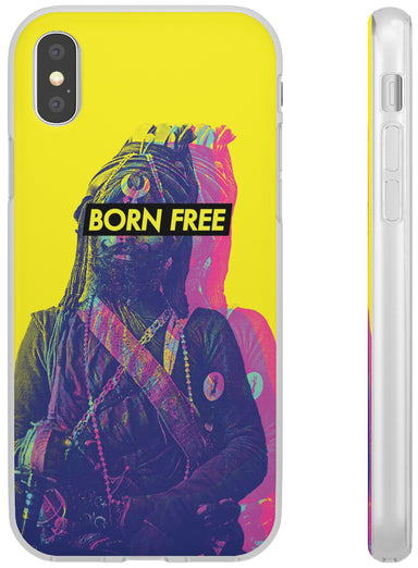 Born Free (Yellow) - Flexi Case - Sikhexpo