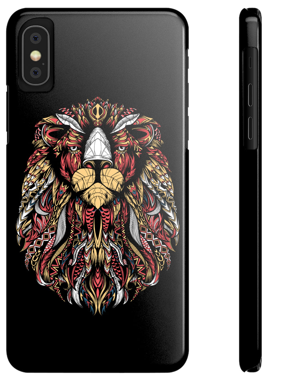 Respect the Mane - Snap Slim Case - Sikhexpo