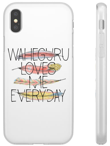 Waheguru Loves Me Everyday - Flexi Case - Sikhexpo
