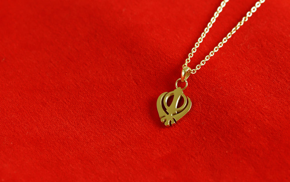 Petite Women's Khanda Necklace