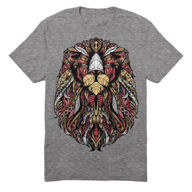 Respect the Mane Tee (heather grey) - Sikhexpo