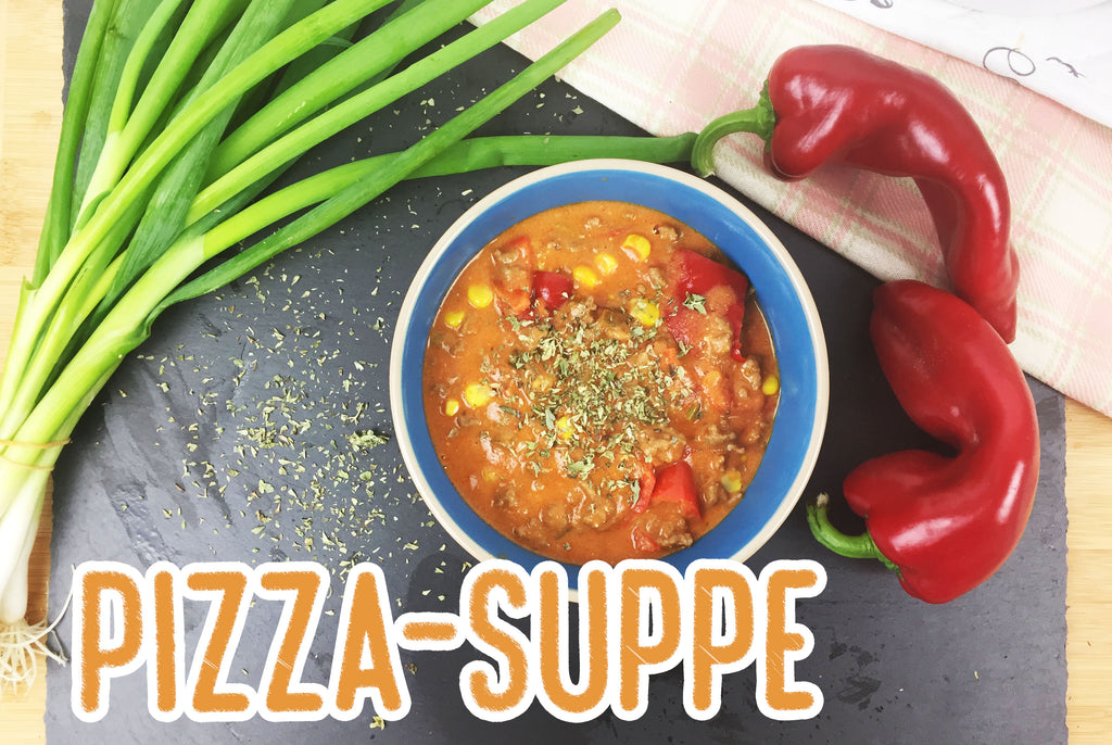 Low Carb Pizza Suppe - Super lecker & super wenig Kohlenhydrate!