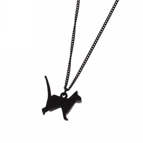Origami Pendant Necklace