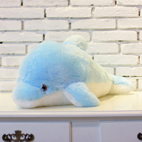 Dolphin Doll Glowing Pillow