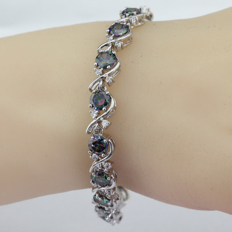 Black Stone Bracelet For Women | Christmas Gift