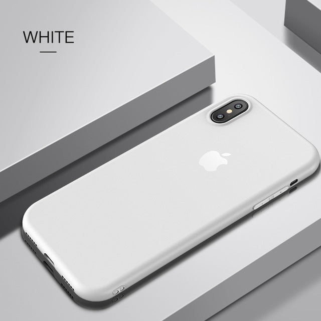 Phone case for iphone X Ultra Thin Cute colors