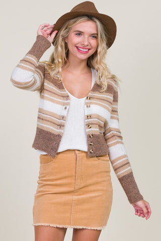 Fall Vibes Cropped Cardigan