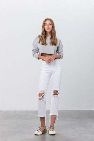 Into The Light High Waisted Denim