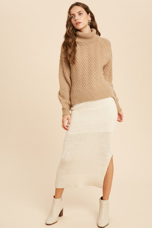 Cream Soda Lined Skirt