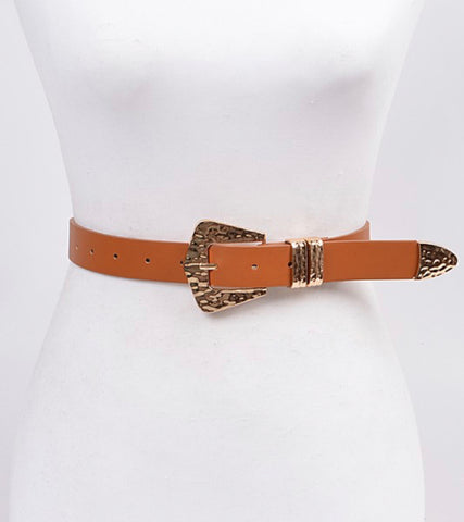 Mercury Gold Metal Belt