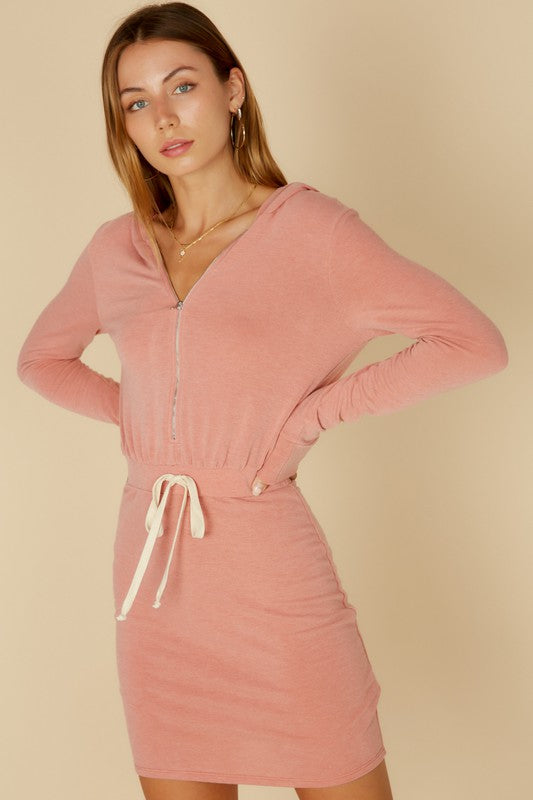 Just Chill Sweatshirt Dress