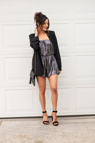 Disco D Sequins Romper