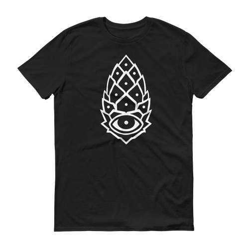 Pineal Gland White Pinecone Mens Shirt
