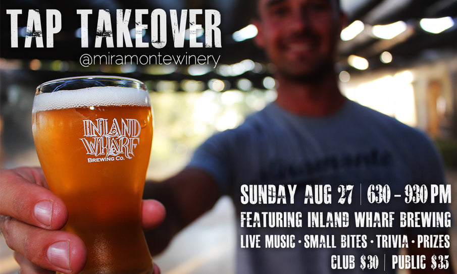 Join us for our First Ever Tap Takeover!