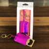 Pink Bottle Opener Key Chain