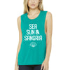 ALL NEW! Sea, Sun, & Sangria - Women's Tank