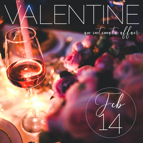 Valentine, an intimate affair
