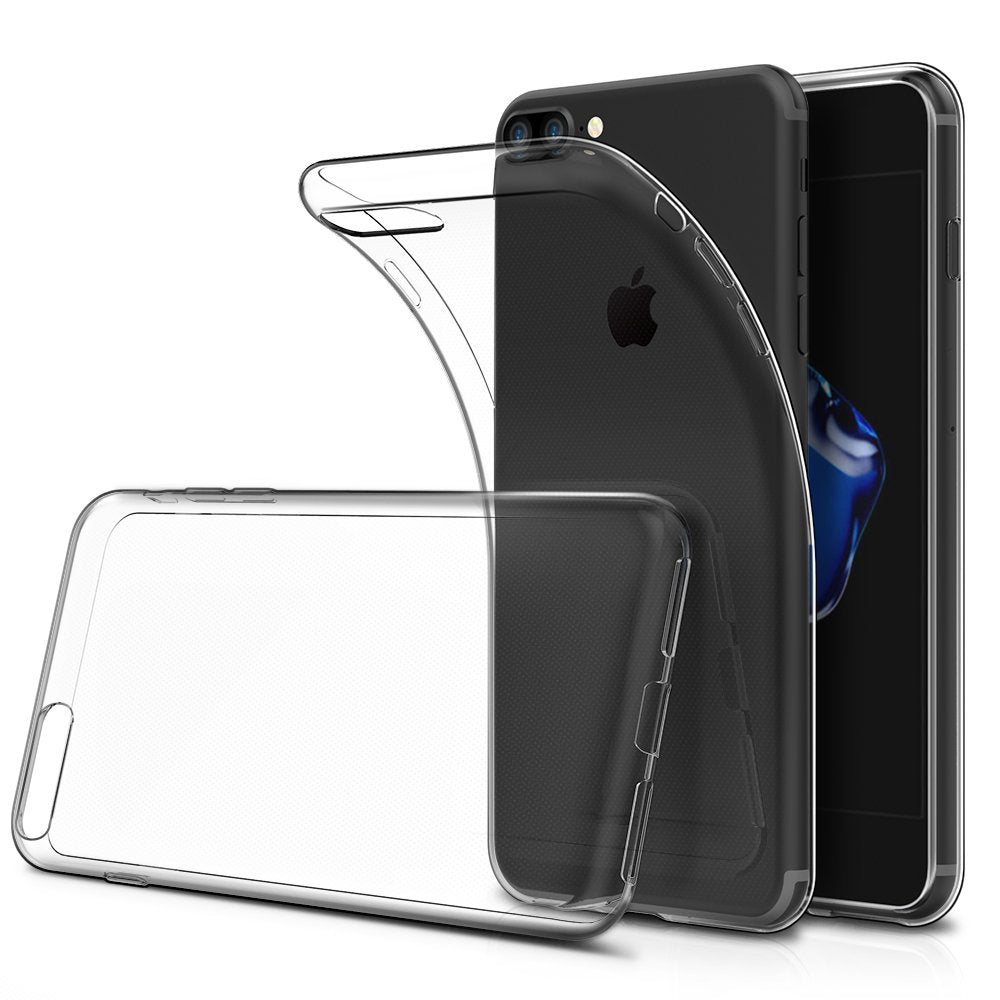 Soft TPU Bumper and Anti-Scratch Ultra Clear Slim Case
