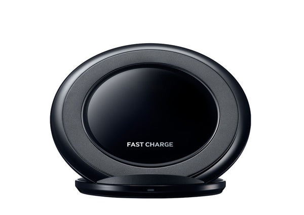 Best Quality Qi Certified Fast Charge Wireless Charging Stand for QI Enabled Devices With Retail Packaging - Black