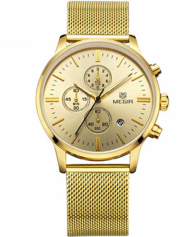 The Mesh Chrono Gold