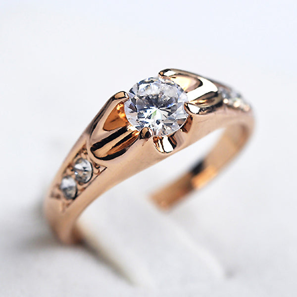 Crystals Ring for women Engagement Rings