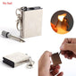 Metal match Fire starter tool flint stone lighter - Touch of Urban