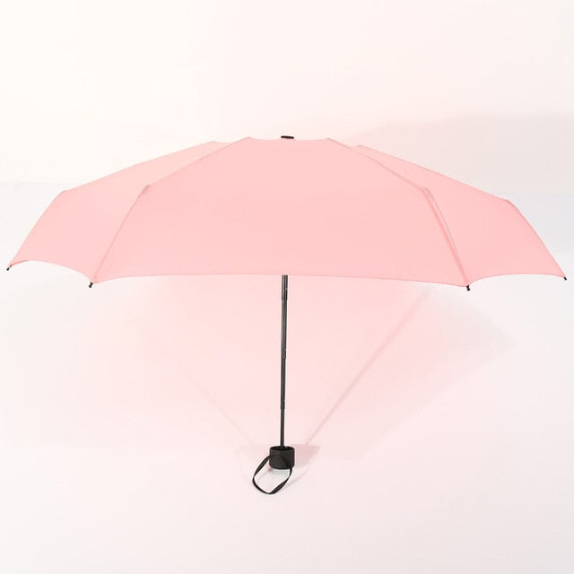 Mini Small Folding Umbrella Pocket Umbrella Anti-UV & Sunny Rainy Umbrella