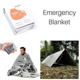 Tactical 10 in 1 Outdoor Camping Survival Gear Kits
