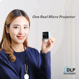 Pocket WIFI Wireless DLP Build-in Battery Micro Projector