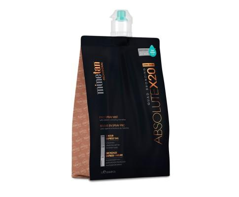 Minetan Professional Sunless Spray Tan Solution - Absolute - COLE